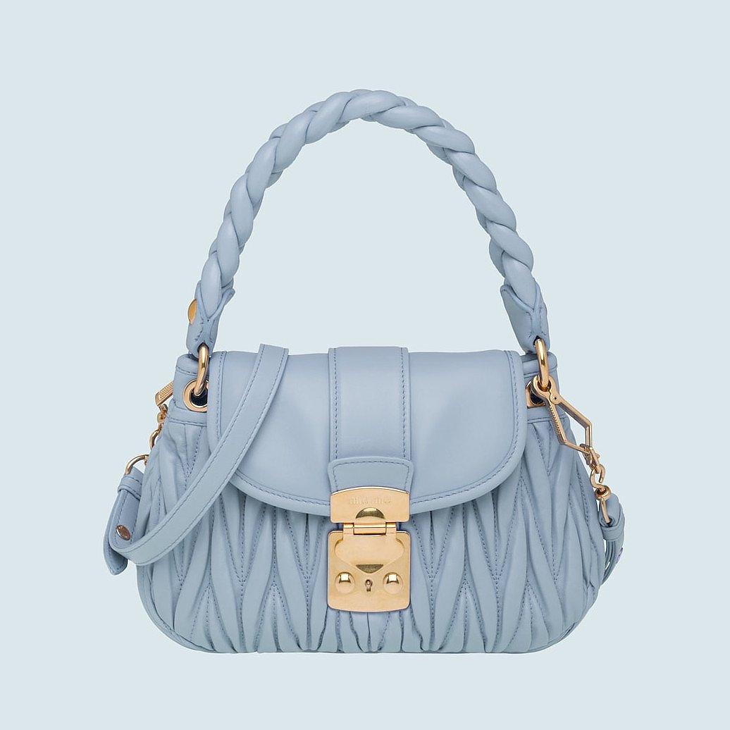 Miu Miu Coffer Matelassé Nappa Leather Handbag