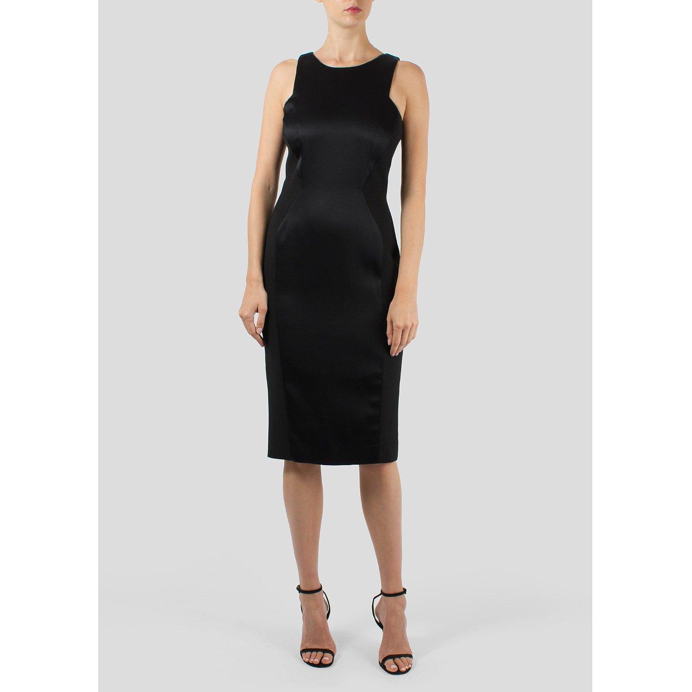 Amanda Wakeley Sleeveless Shift Midi Dress