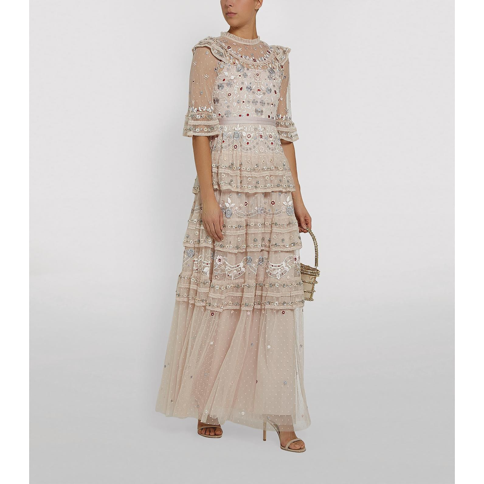 Needle & Thread Eden Beaded Lace Gown