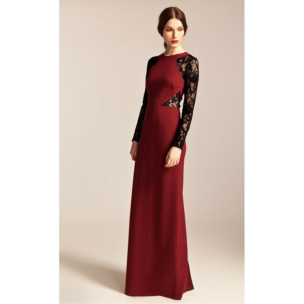 Temperley London Lace Detail Gown
