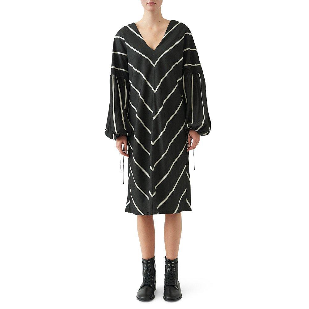 Noon By Noor Camarillo Herringbone Dress
