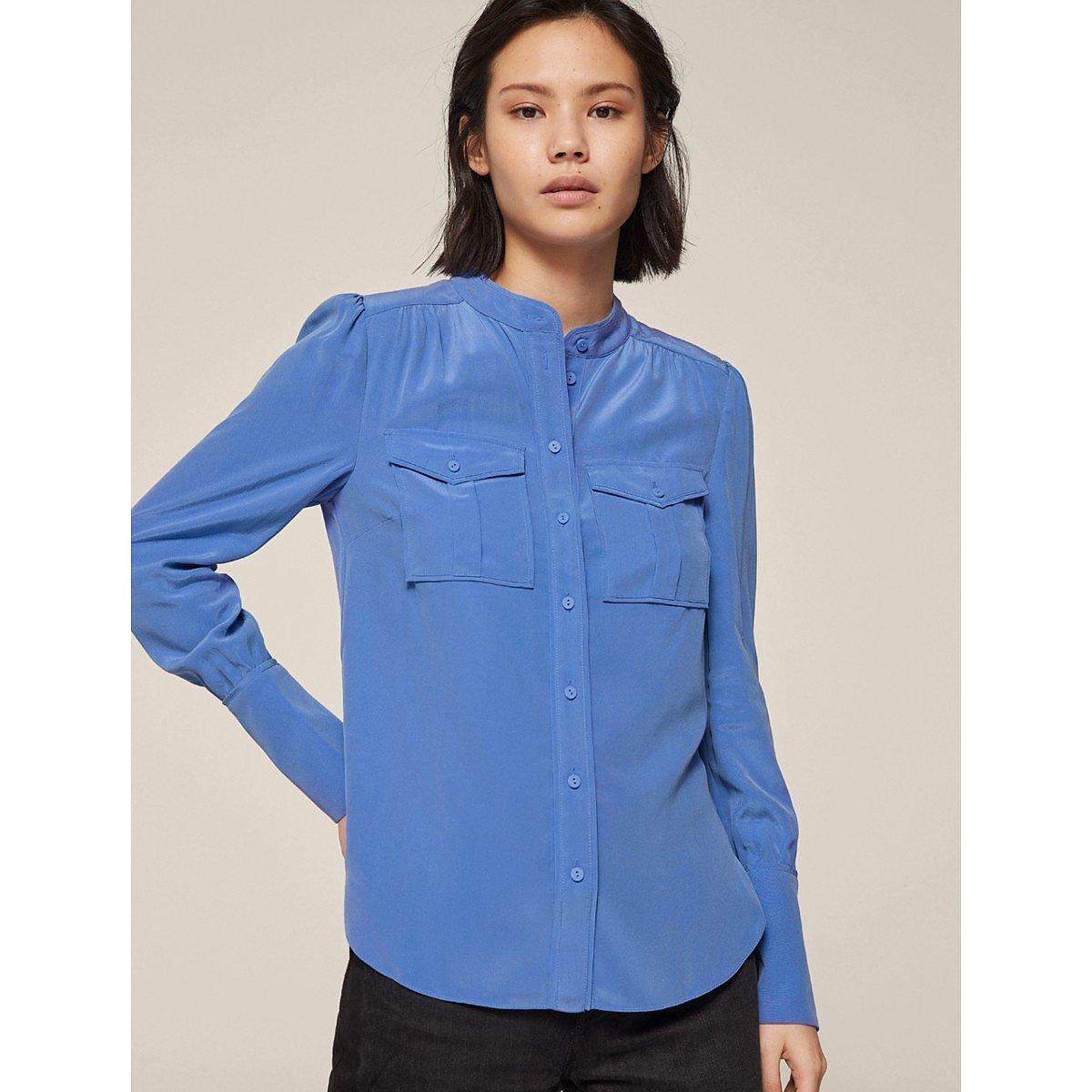 ME+EM Silk Cargo Shirt