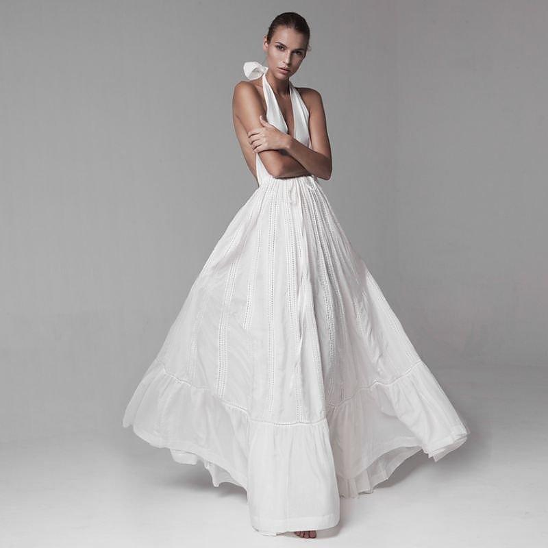 Kalita Rooftop Halter Dress