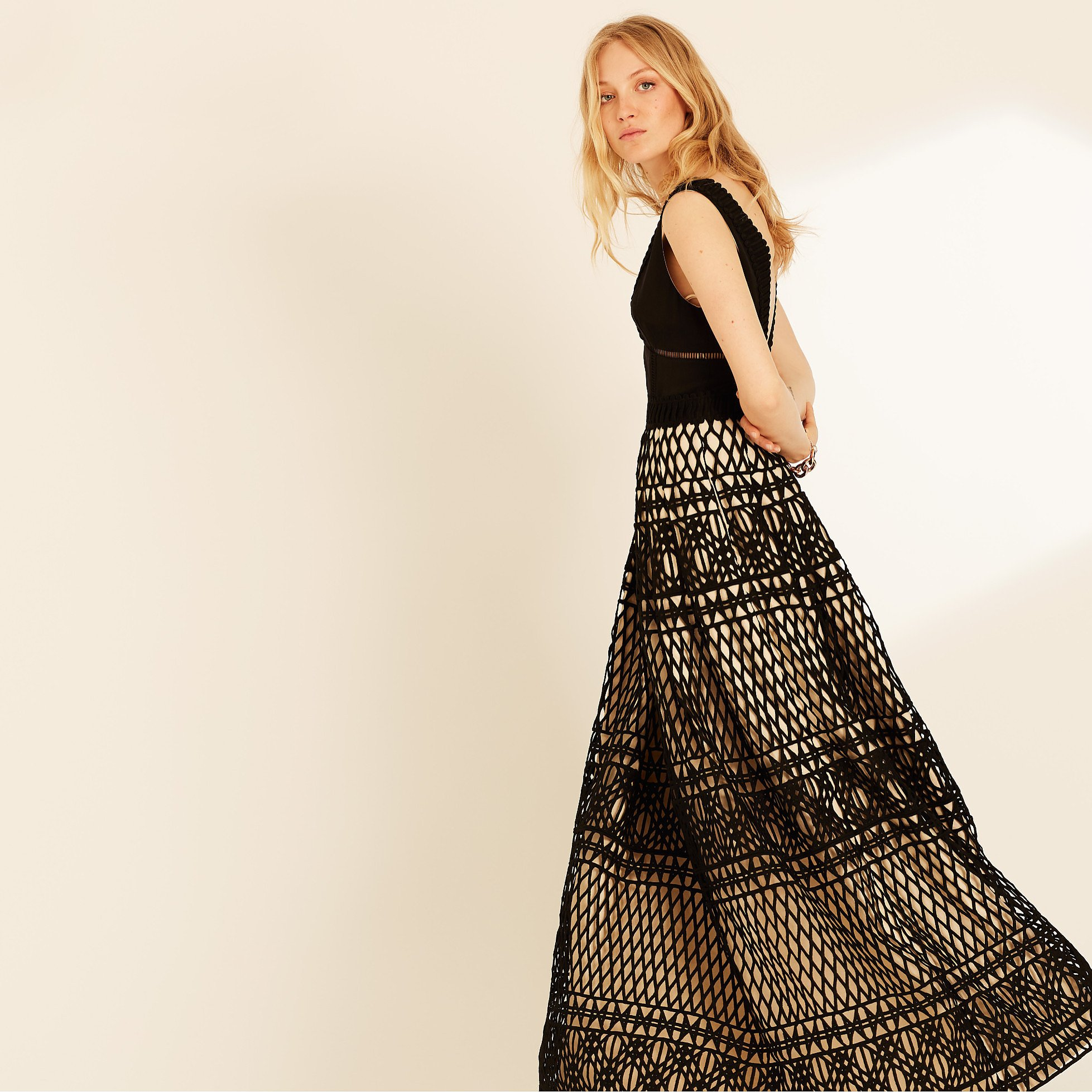 Amanda Wakeley Guipure Lace Gown