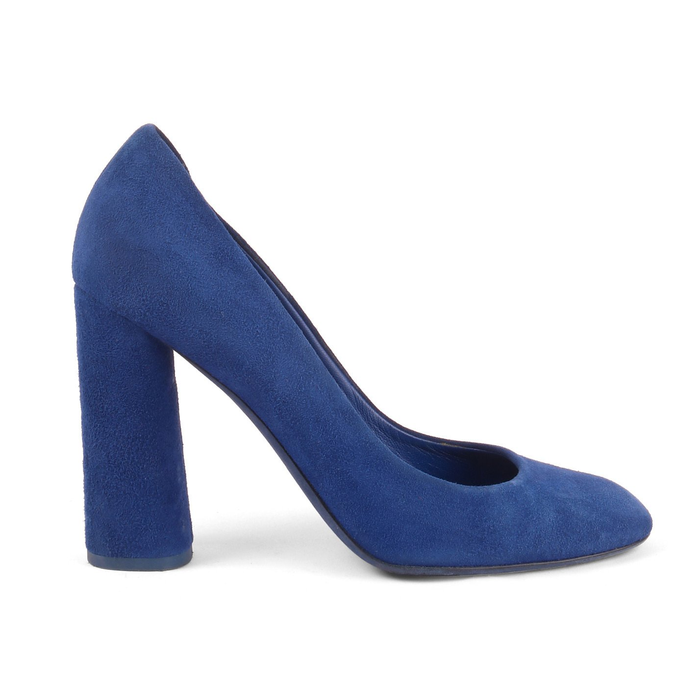Dior Suede Block Heel Pumps