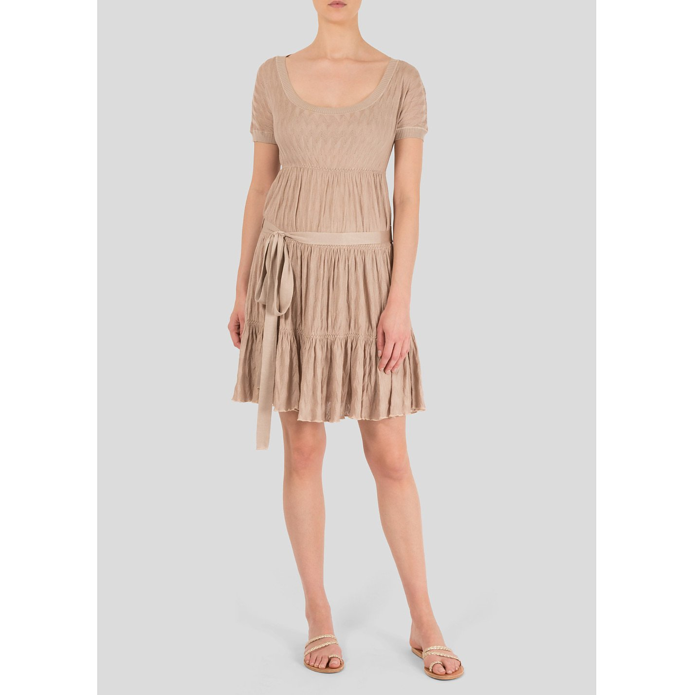 Missoni Tiered Woven Dress