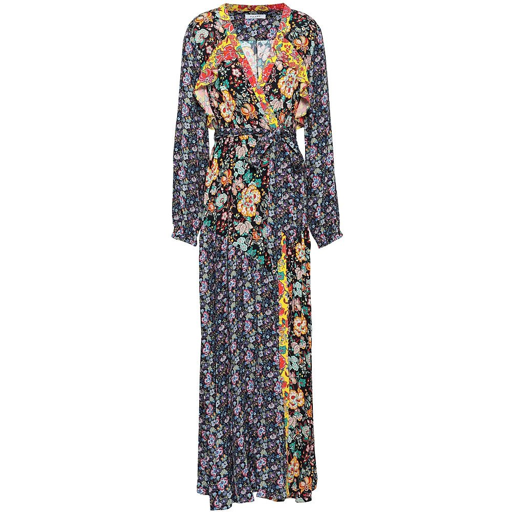 Frame Floral Print Maxi Dress