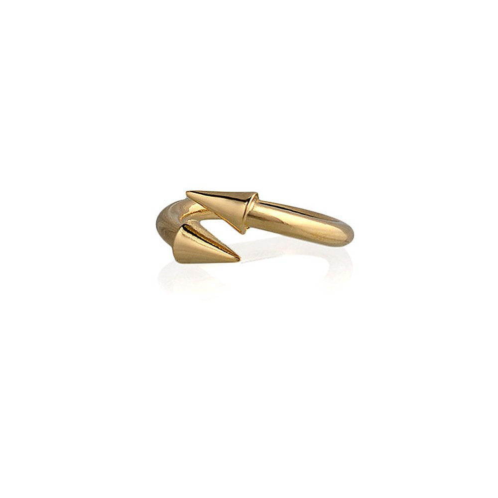 Fallon Twist Spike Ring