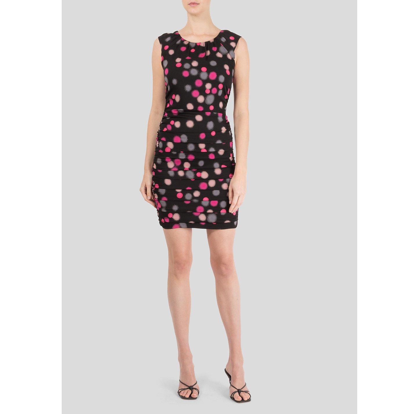 Diane von Furstenberg Polka Dot Print Dress