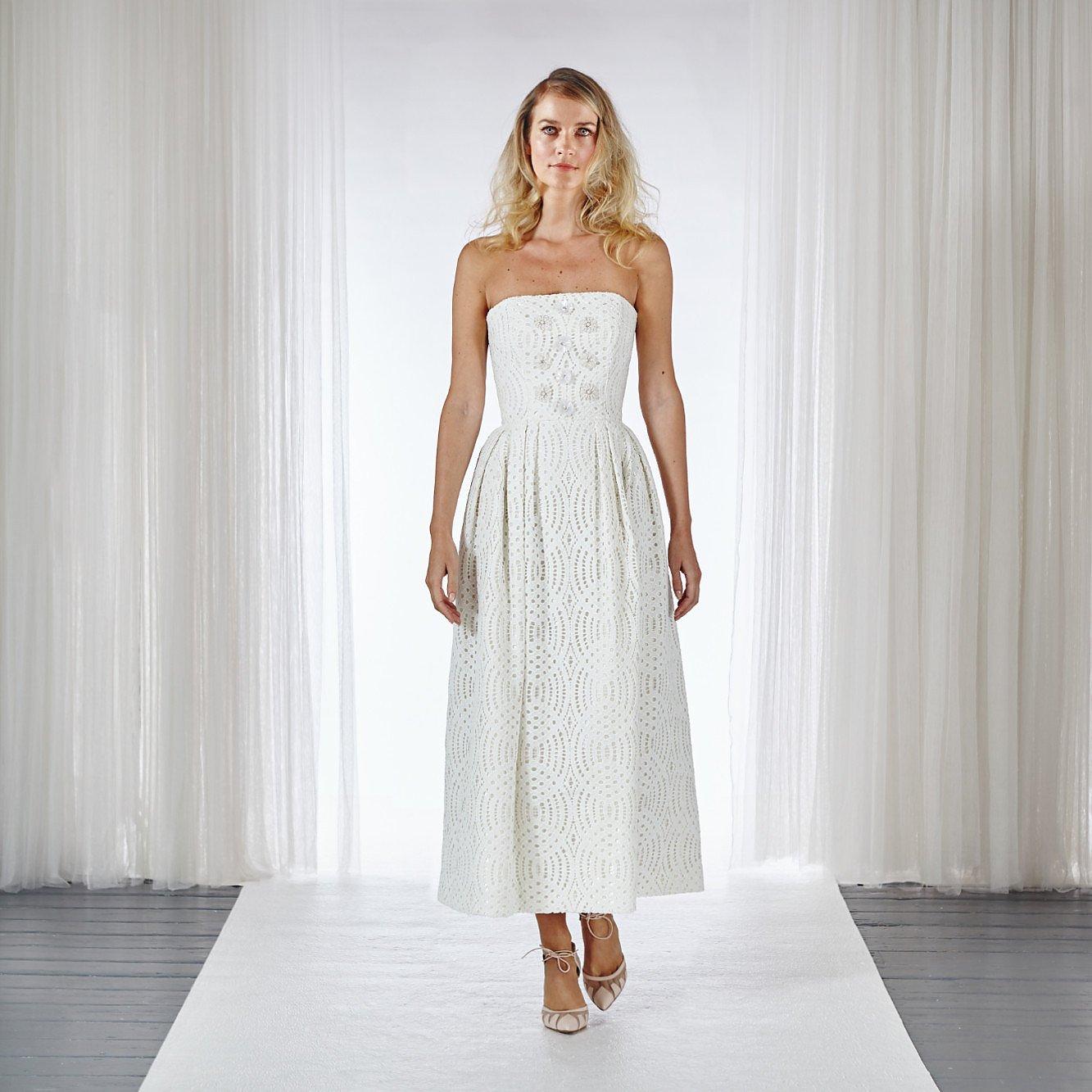 Charlie Brear Caravel Strapless Dress