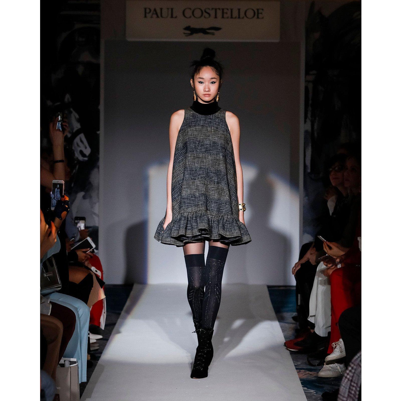 Paul Costelloe Sleeveless Striped Skater Dress