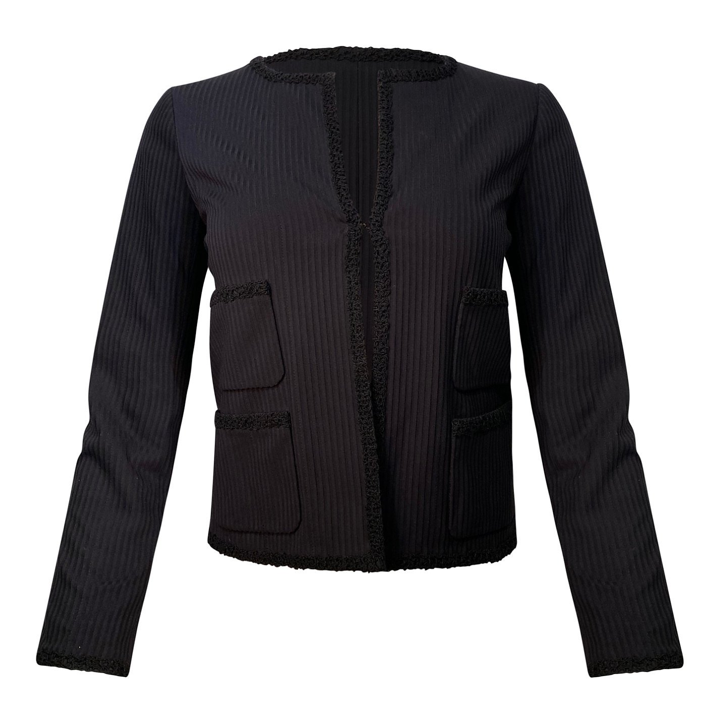CHANEL Tonal Stripe Jacket