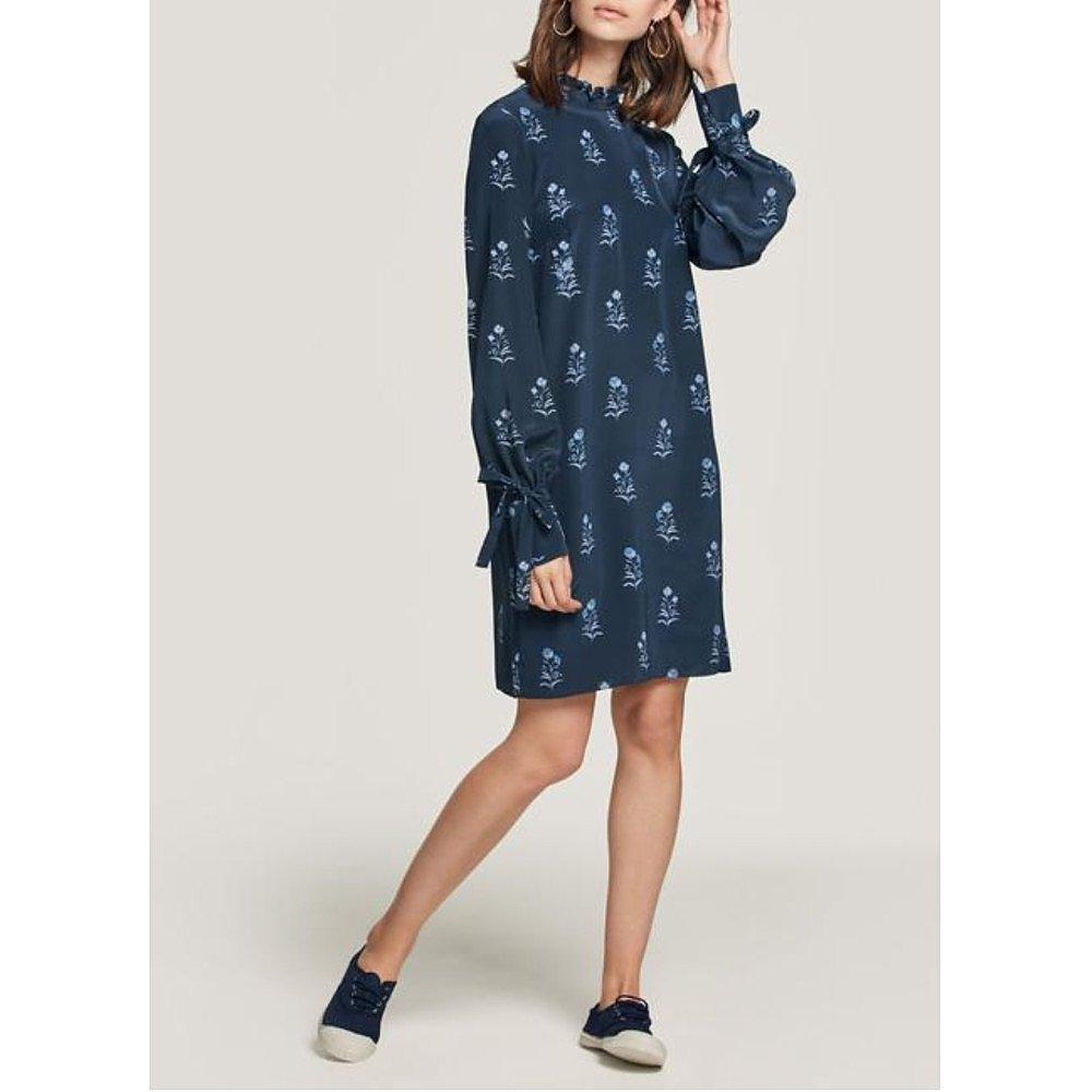 Beulah Sonika Floral Silk Shift Dress
