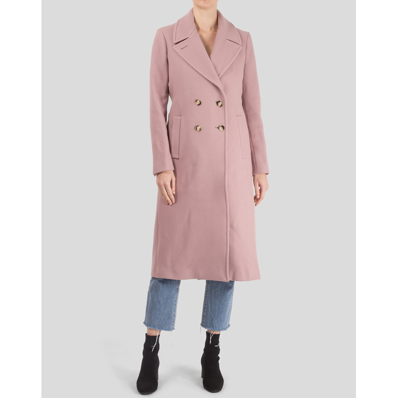 Tricouni Wool And Cashmere Blend Coat