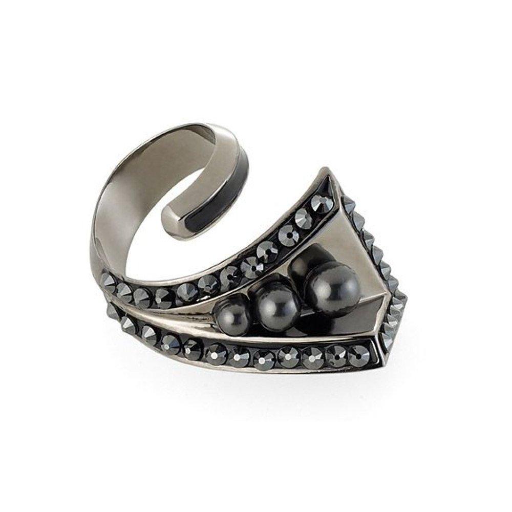 Swarovski Triple Pearl Ring