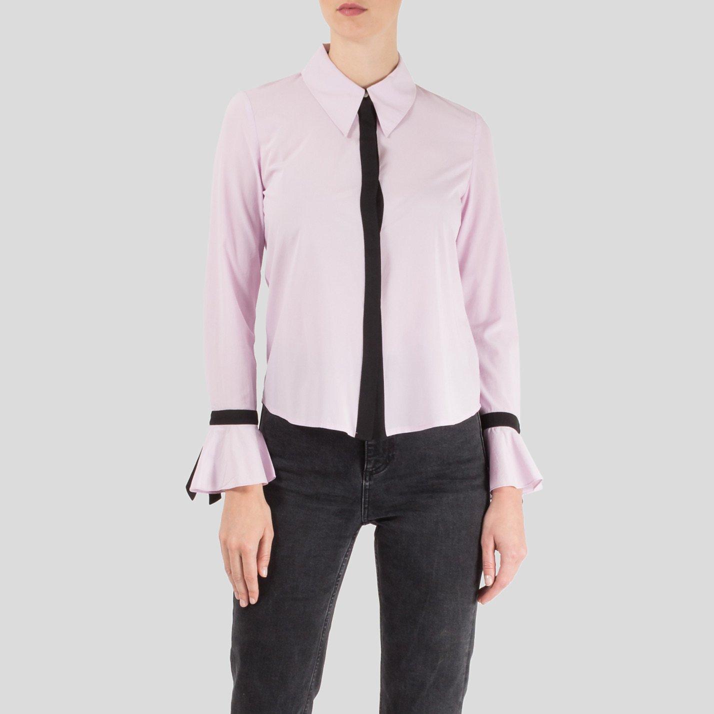Starsica Two Tone Flared-Cuff Shirt