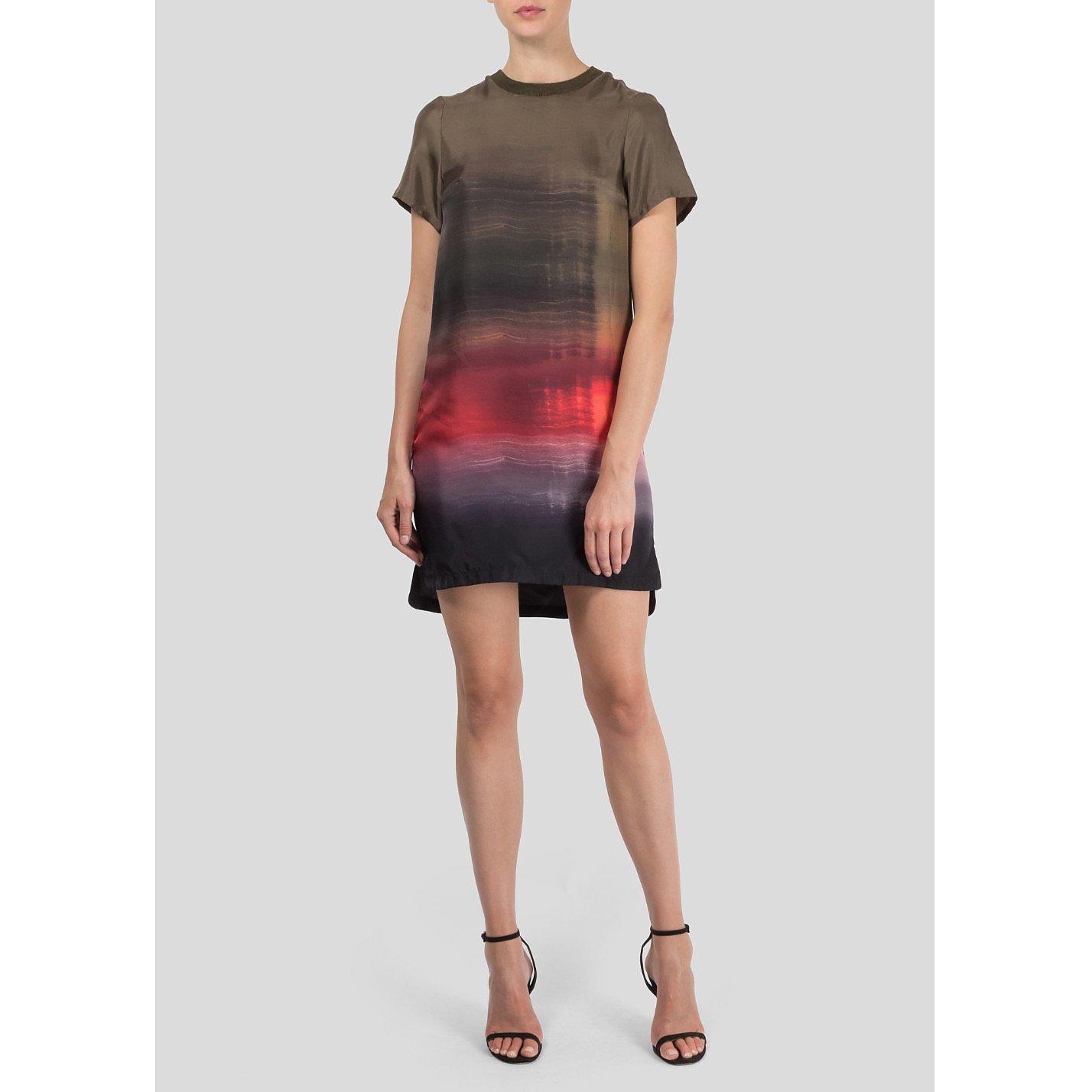 Zoe Jordan Ombre T-Shirt Dress