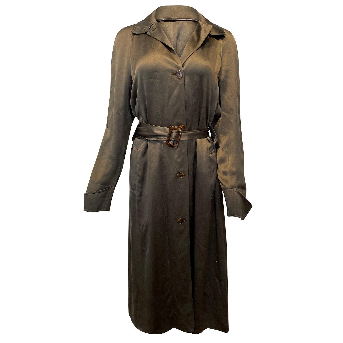 Ralph Lauren Shirt-Style Satin Dress