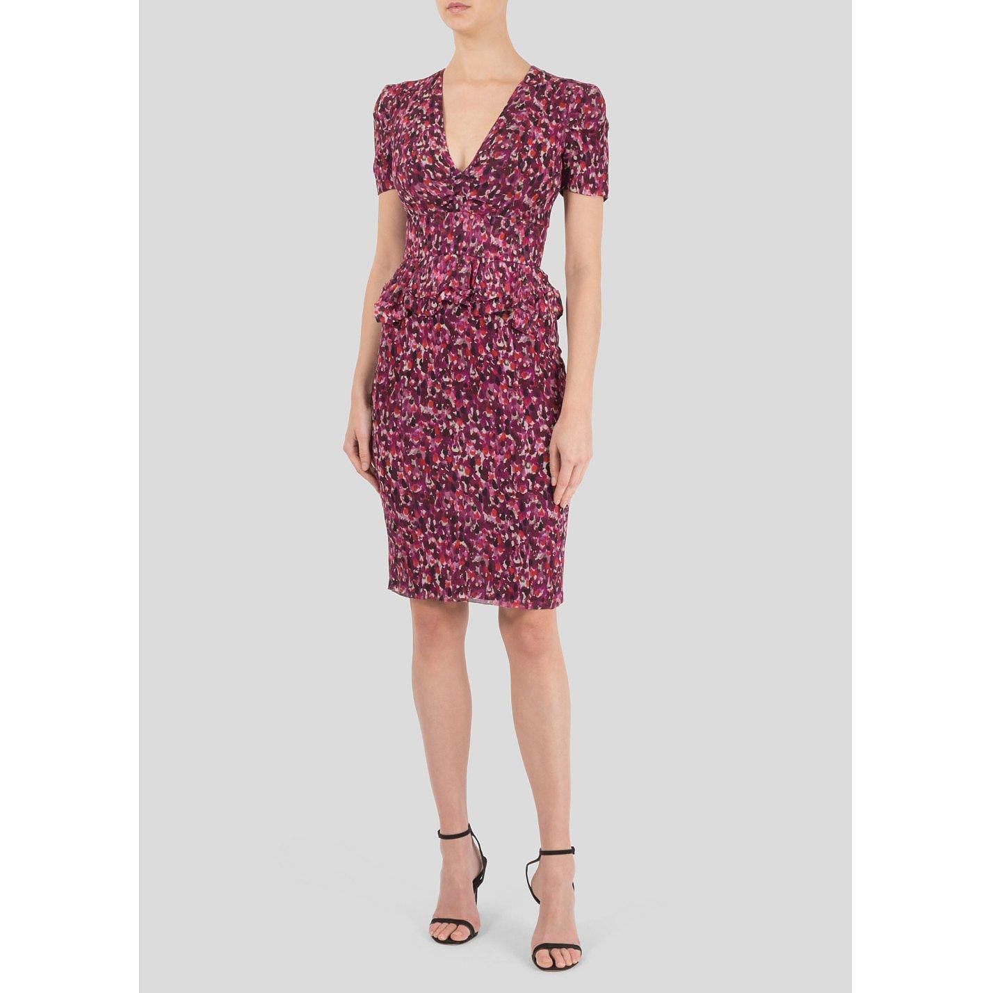 Burberry Floral Print Dress