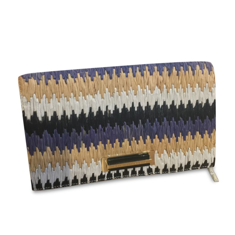 Anya Hindmarch Woven Clutch With Tassel