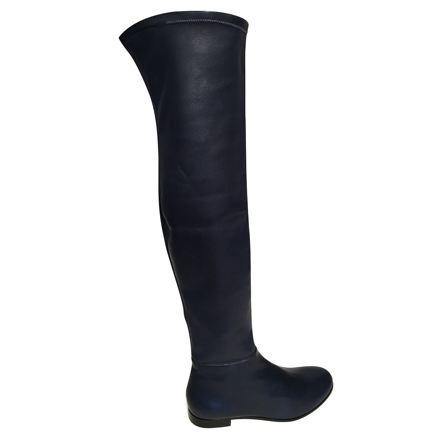 Jimmy Choo Myren Leather Over-The-Knee Boots