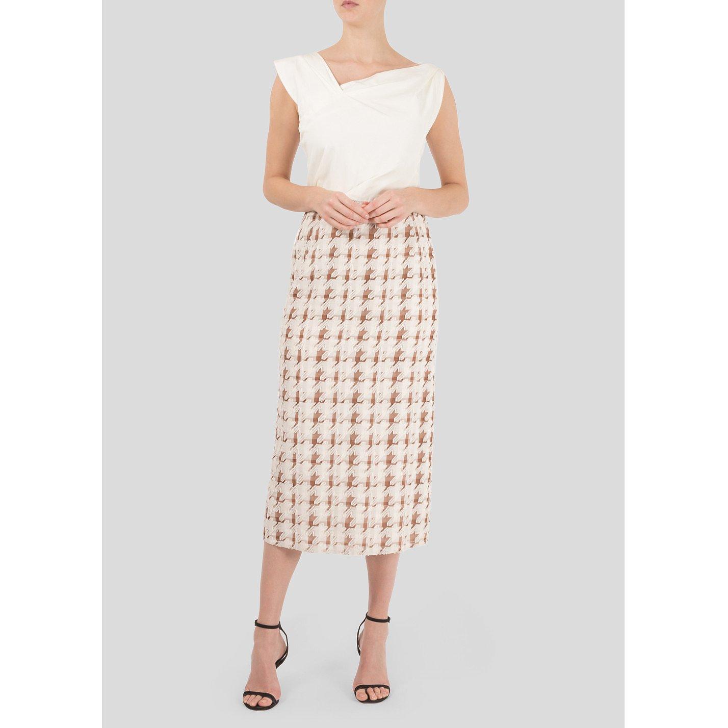 Nina Ricci Panelled Midi Dress