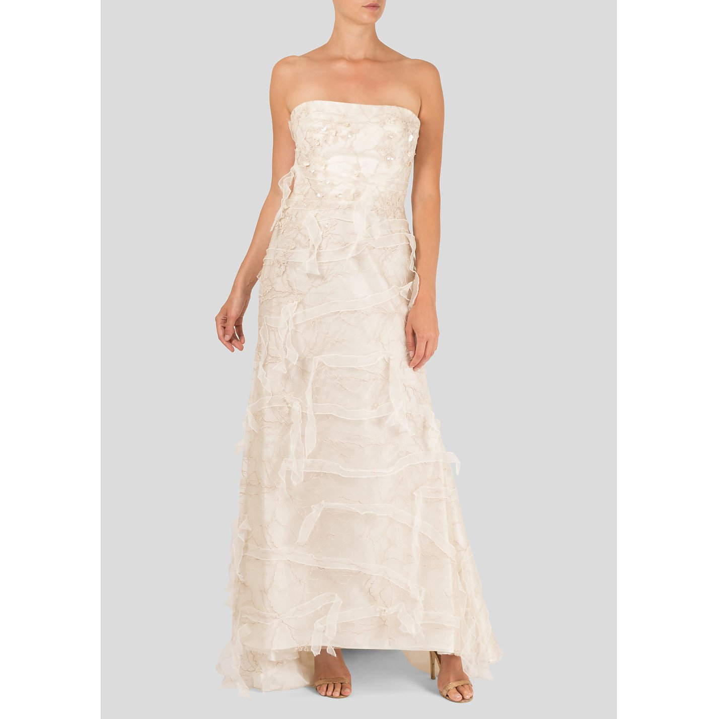 Cymbeline Strapless Bridal Dress