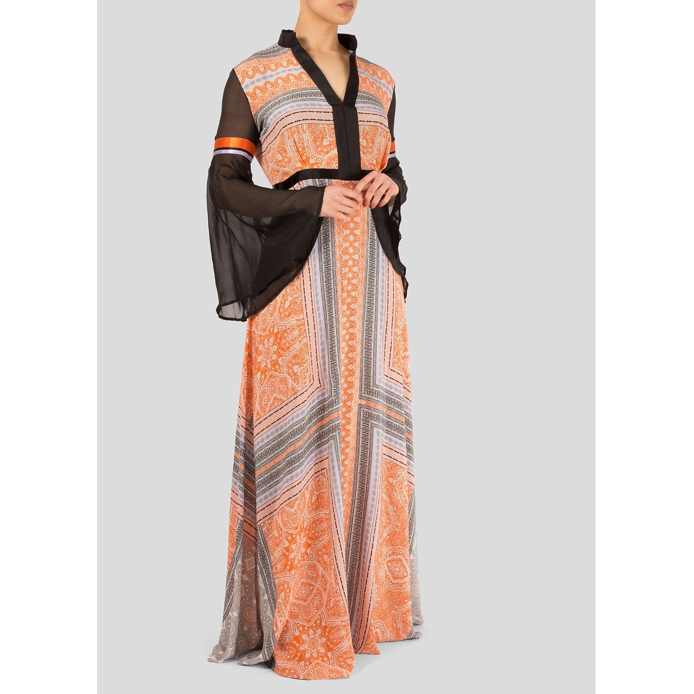 Amanda Wakeley Printed Maxi Dress