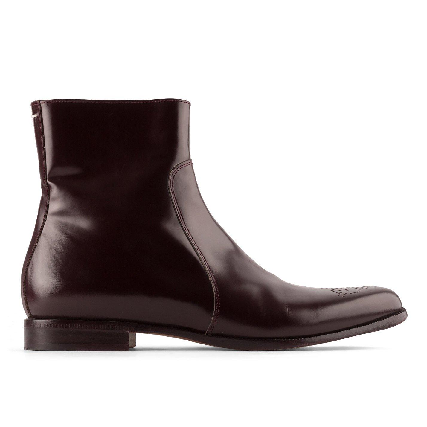 Maison Martin Margiela Patent Ankle Boots