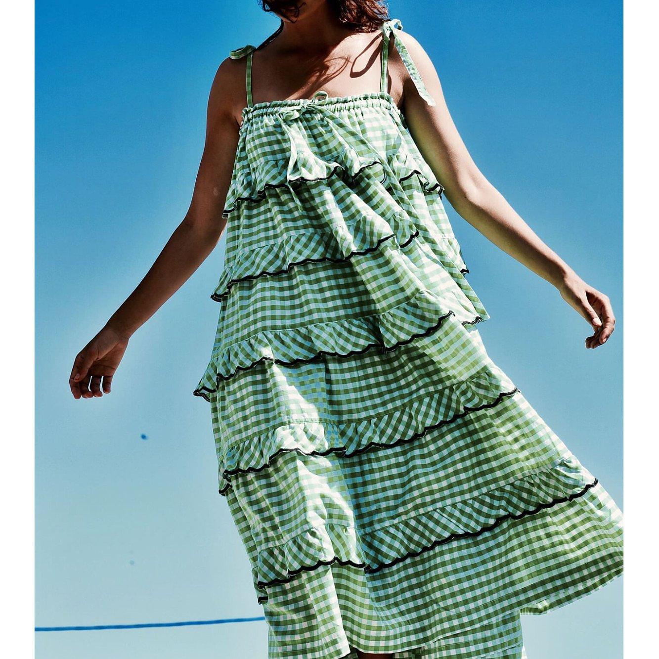 Innika Choo Avens Gingham Dress