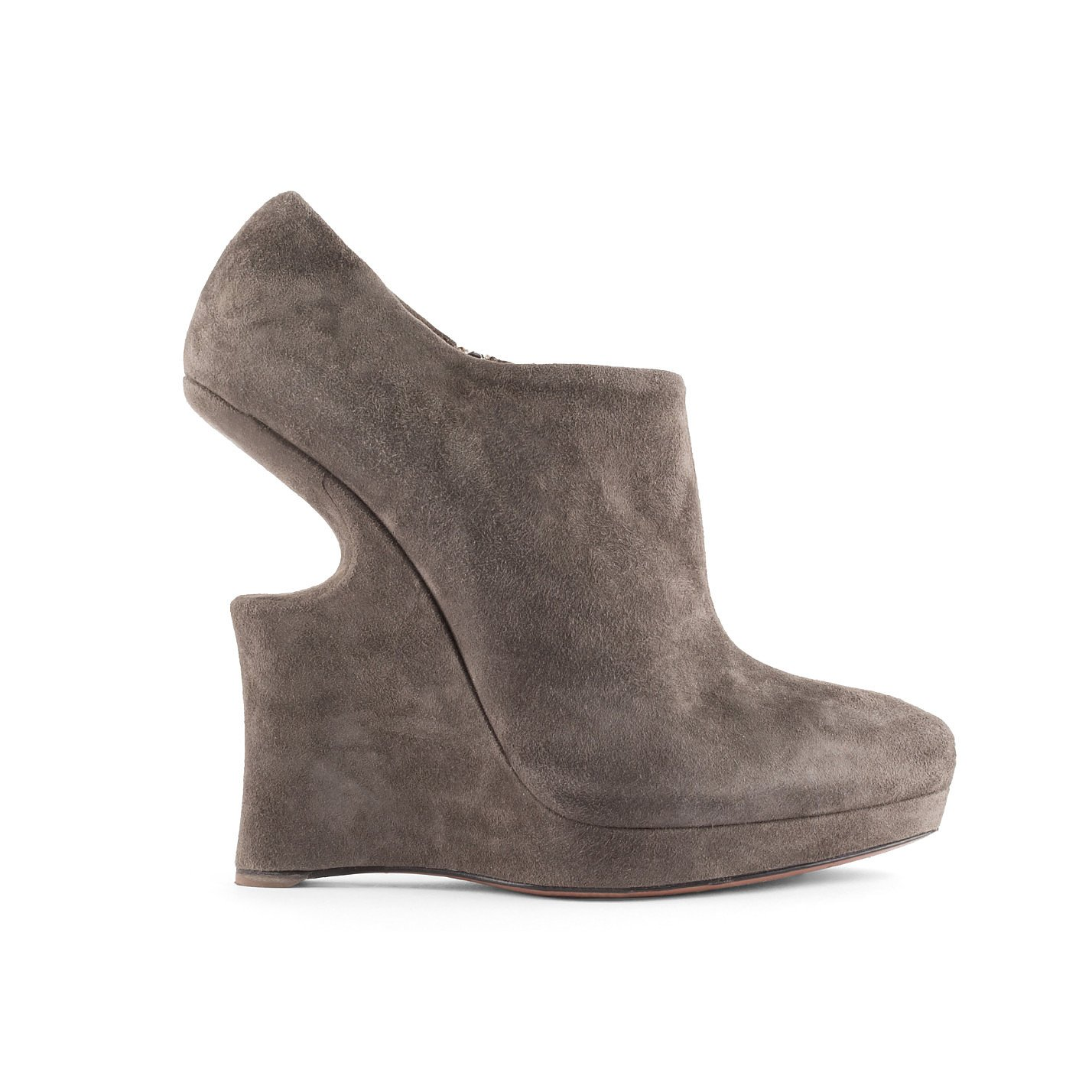Alaïa Sculptured Platform Ankle Boot
