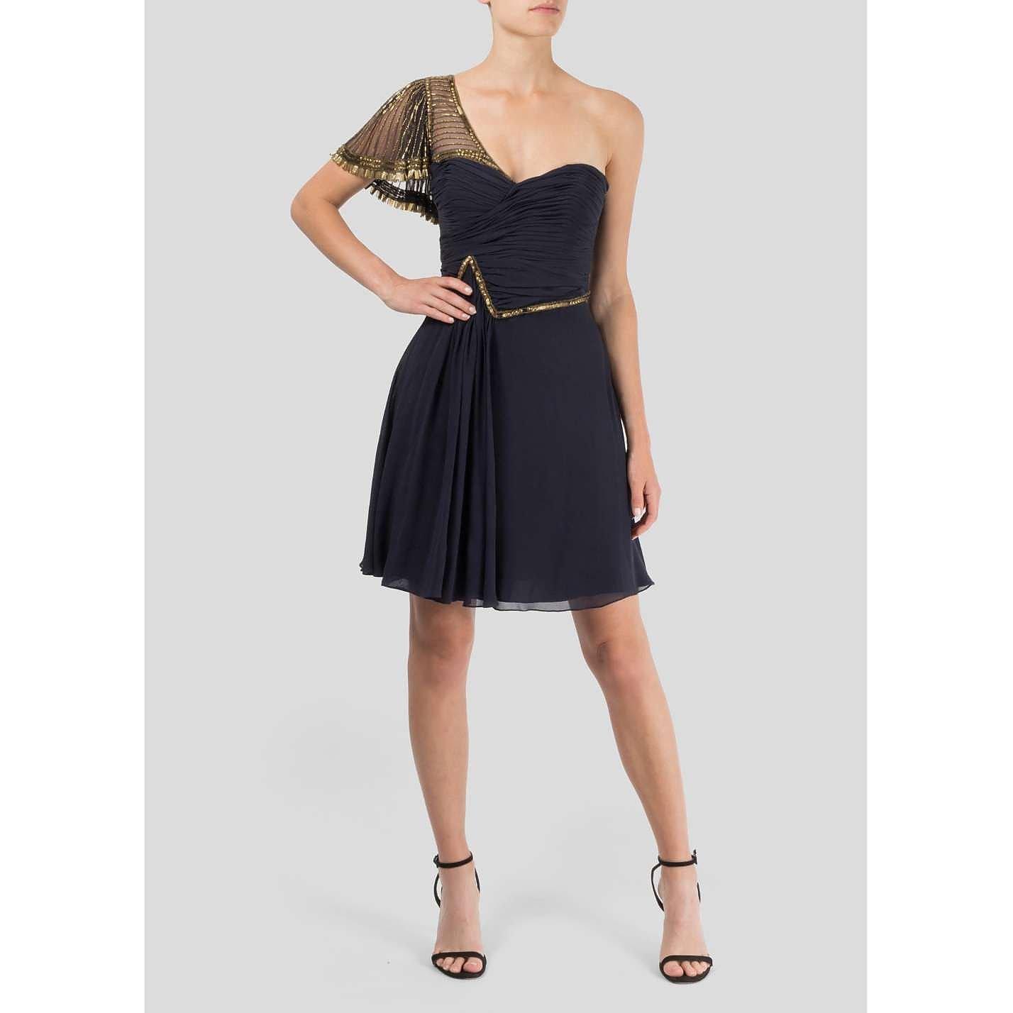 Temperley London One Shoulder Mini Dress