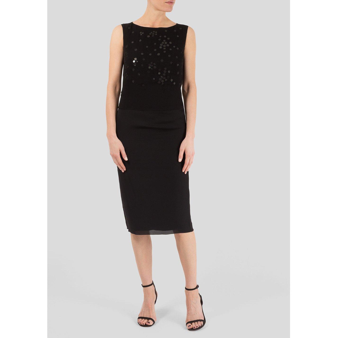 Victoria Beckham Mirror Applique Dress