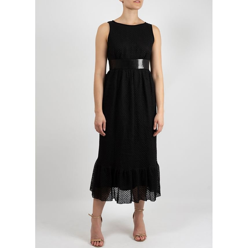 Manoush Midi Dress with Bow Detail