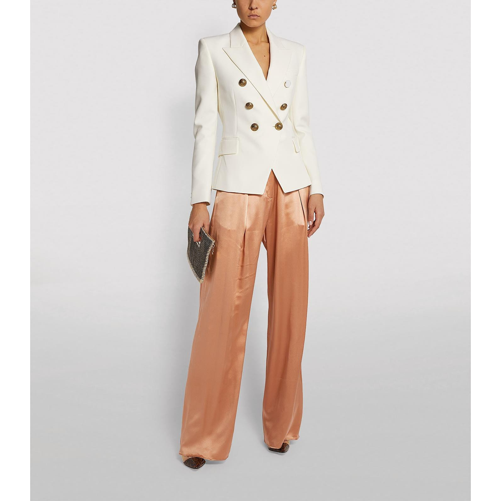 Michael Lo Sordo Silk Trousers