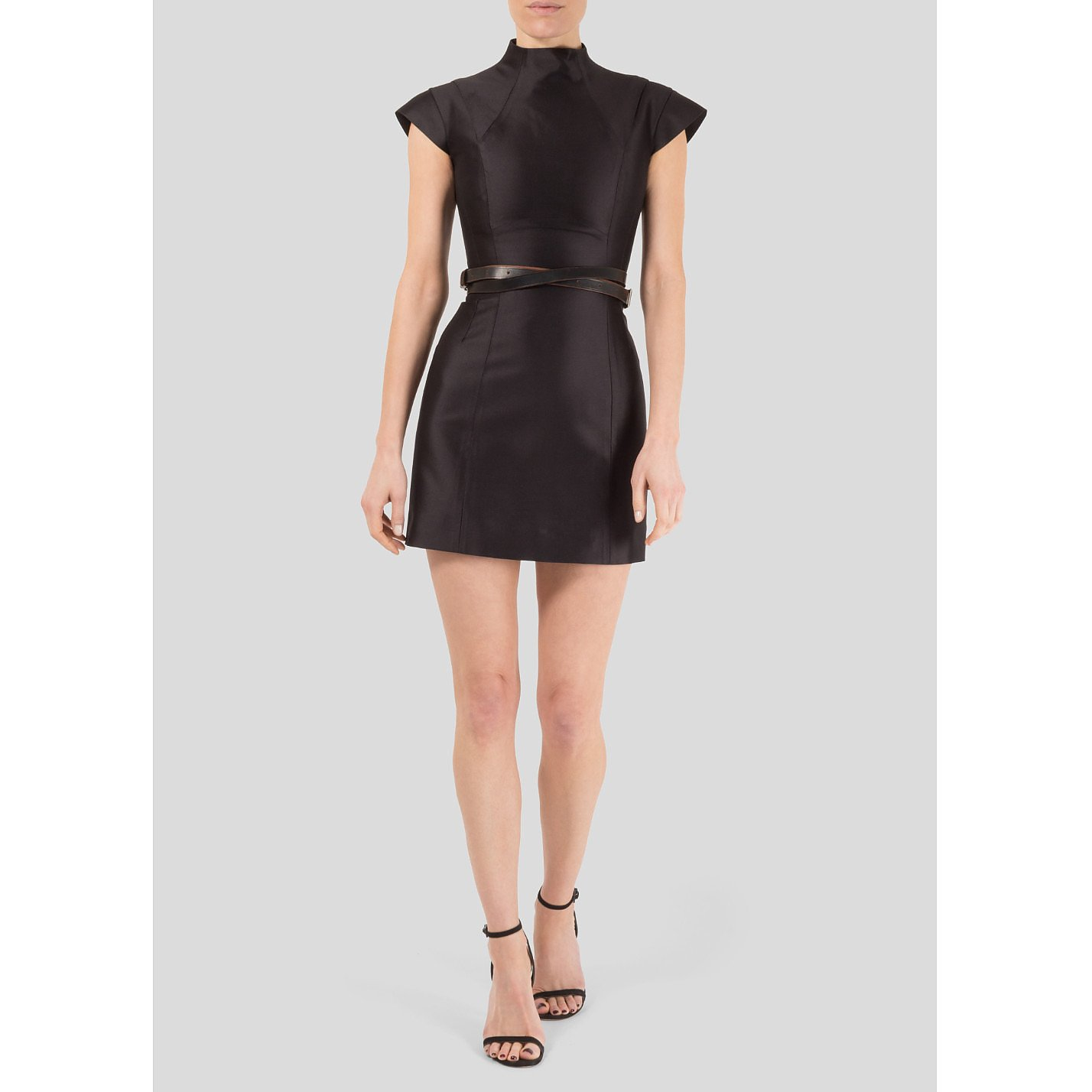 Victoria Beckham High Neck Mini Dress