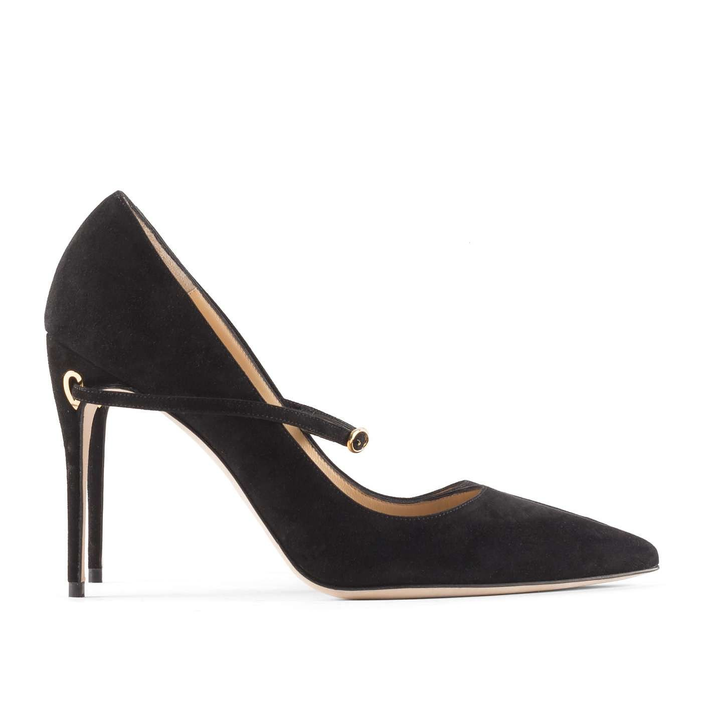Jennifer Chamandi Suede Stiletto Pumps