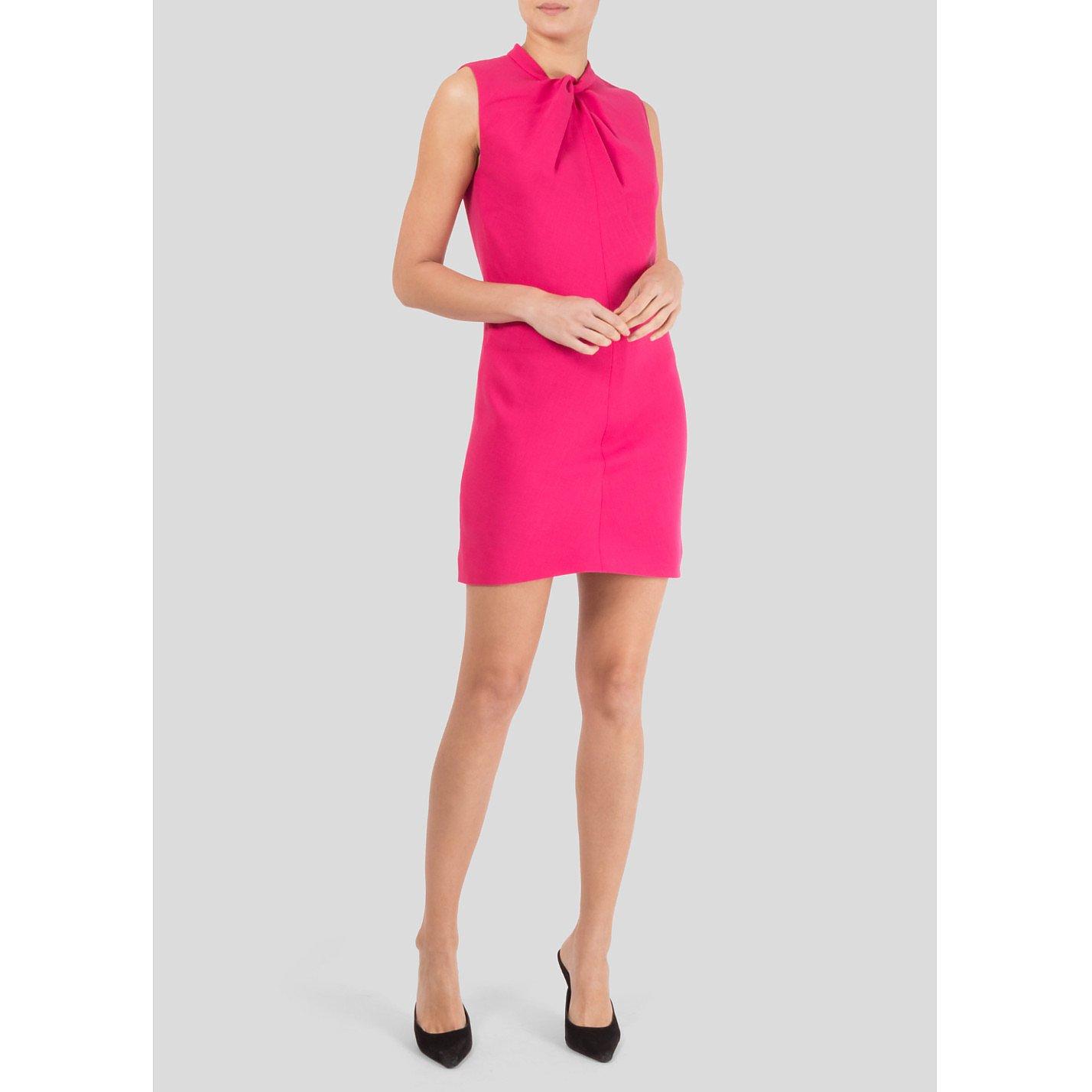 Saint Laurent Twist Detail Mini Dress