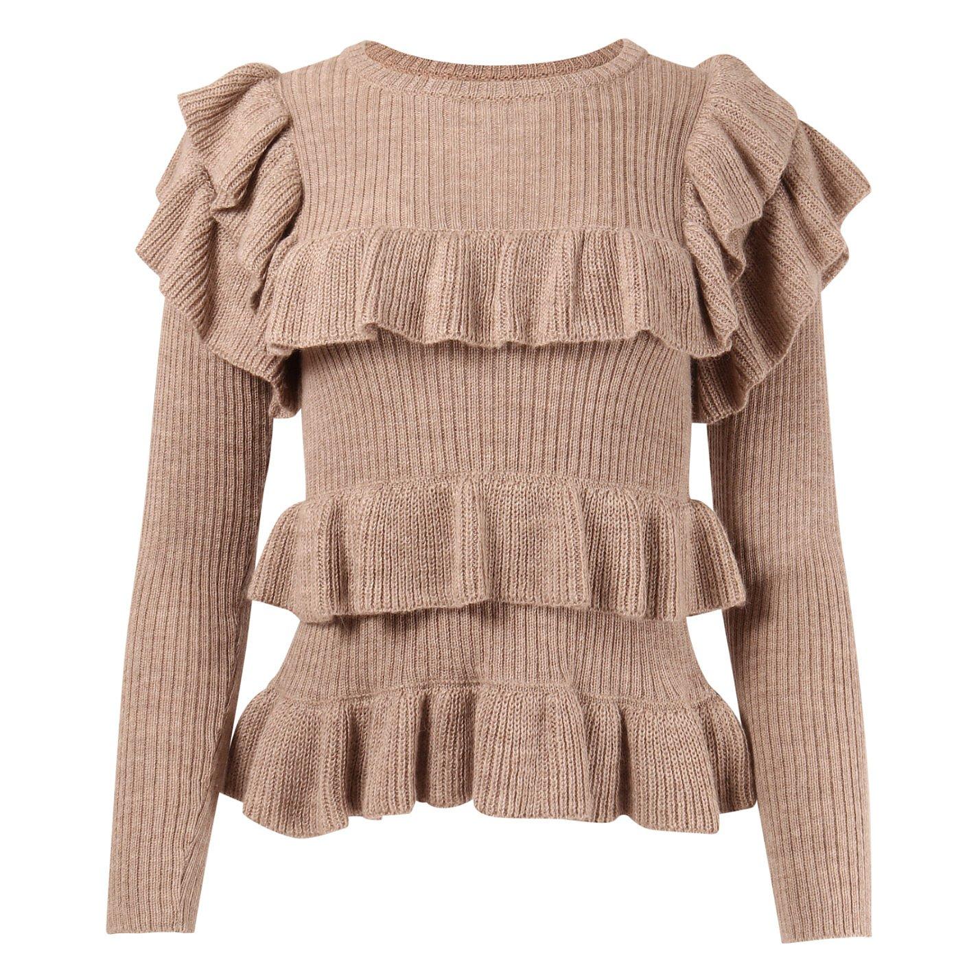 Ulla Johnson Ruffled Knit Sweater