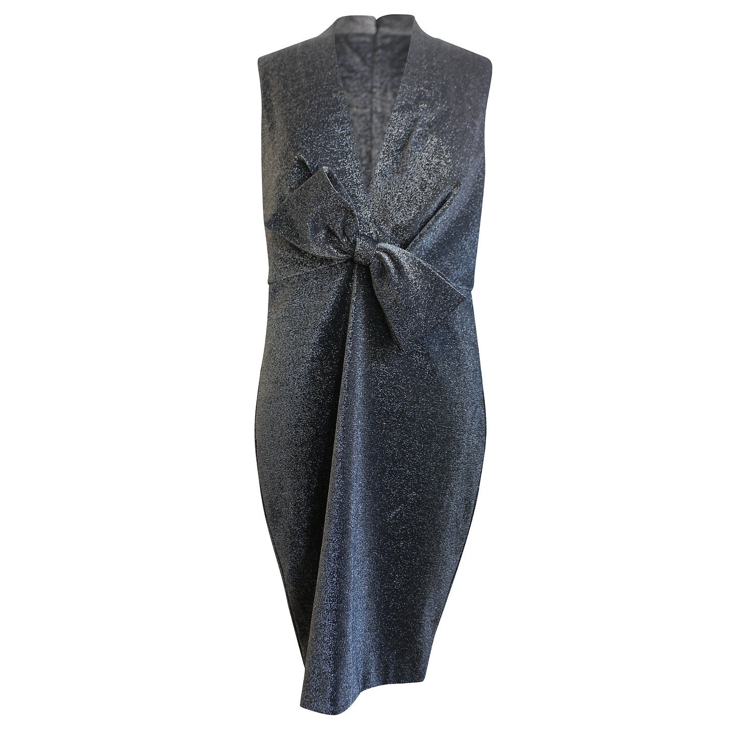 Badgley Mischka Metallic Mini Dress