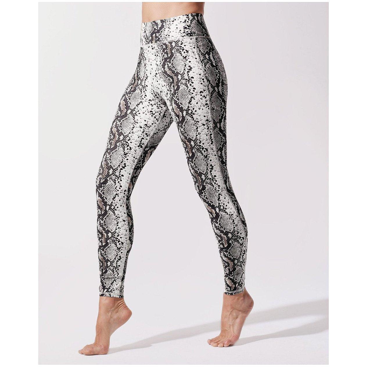 Michi Verve Snakeskin-Print Legging