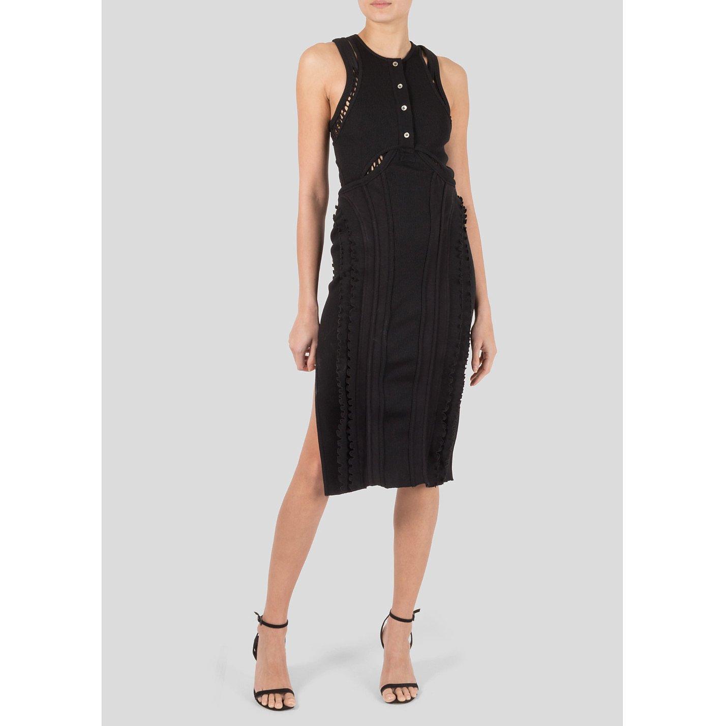 Alexander Wang Sleeveless Cutout Dress