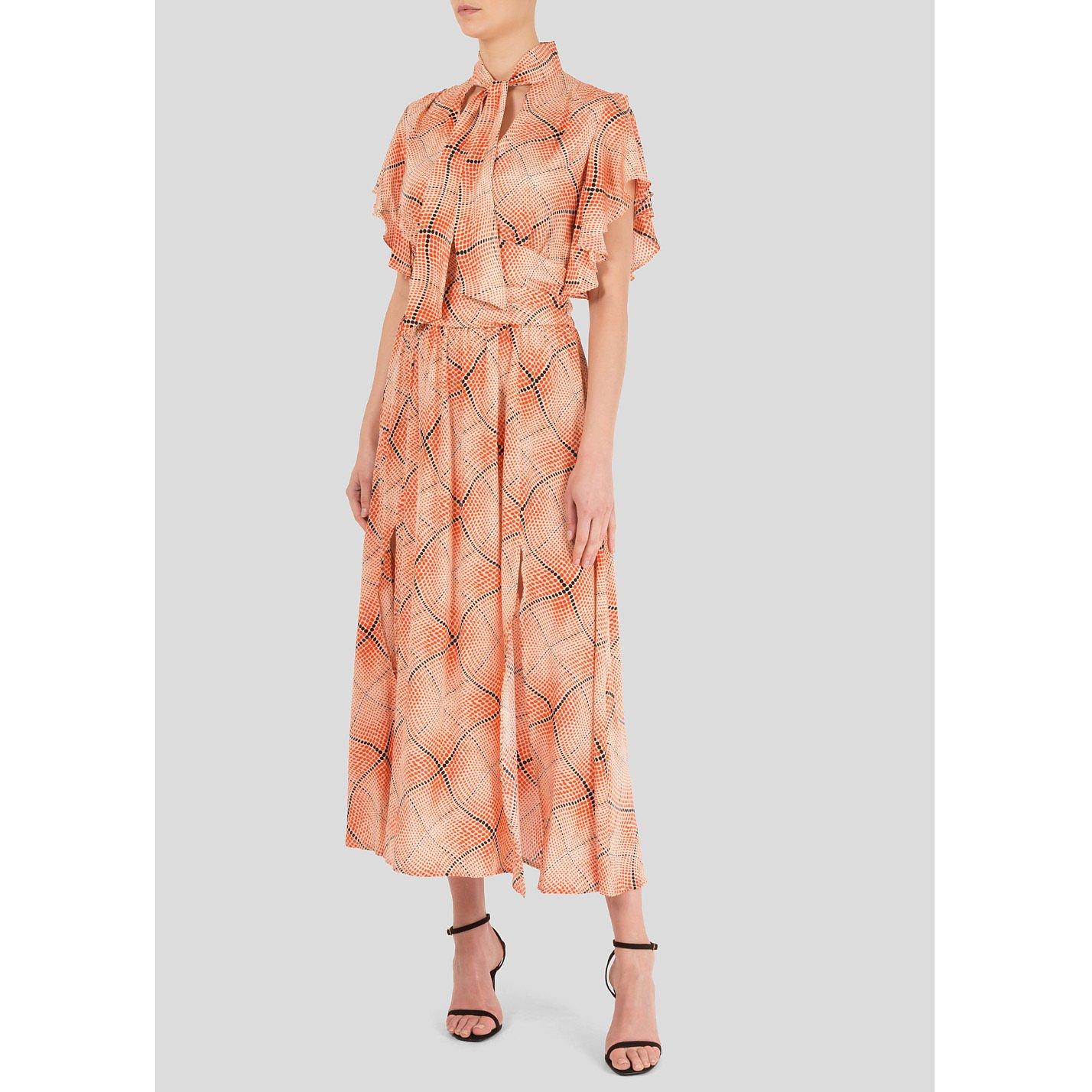 Miranda Dunn Poppy Flutter Sleeve Dress