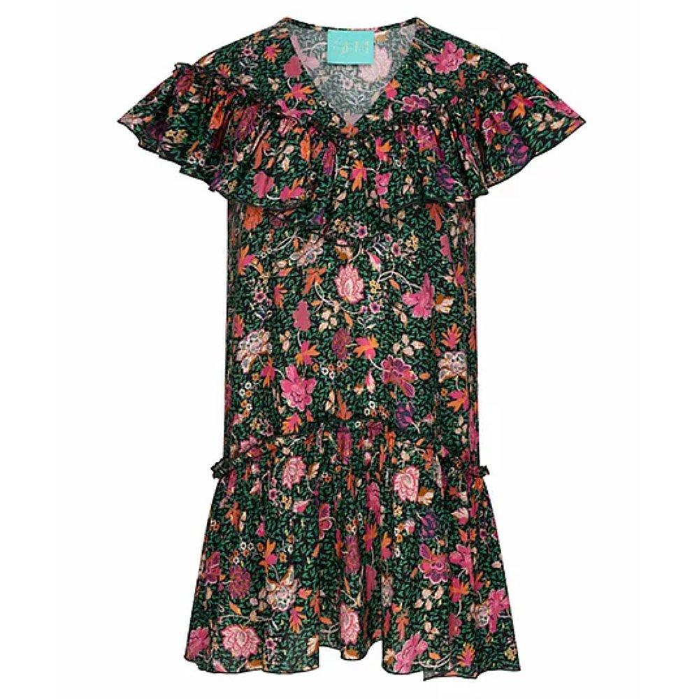 Gem London Collette Mini Dress In Floral