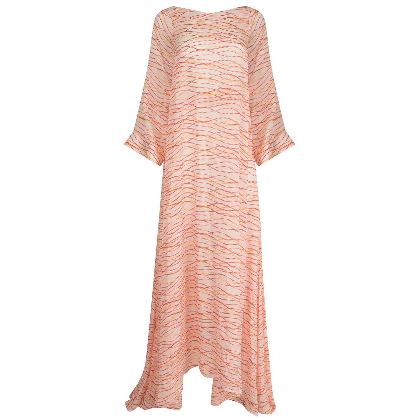 Dhela Dot Print Maxi Dress