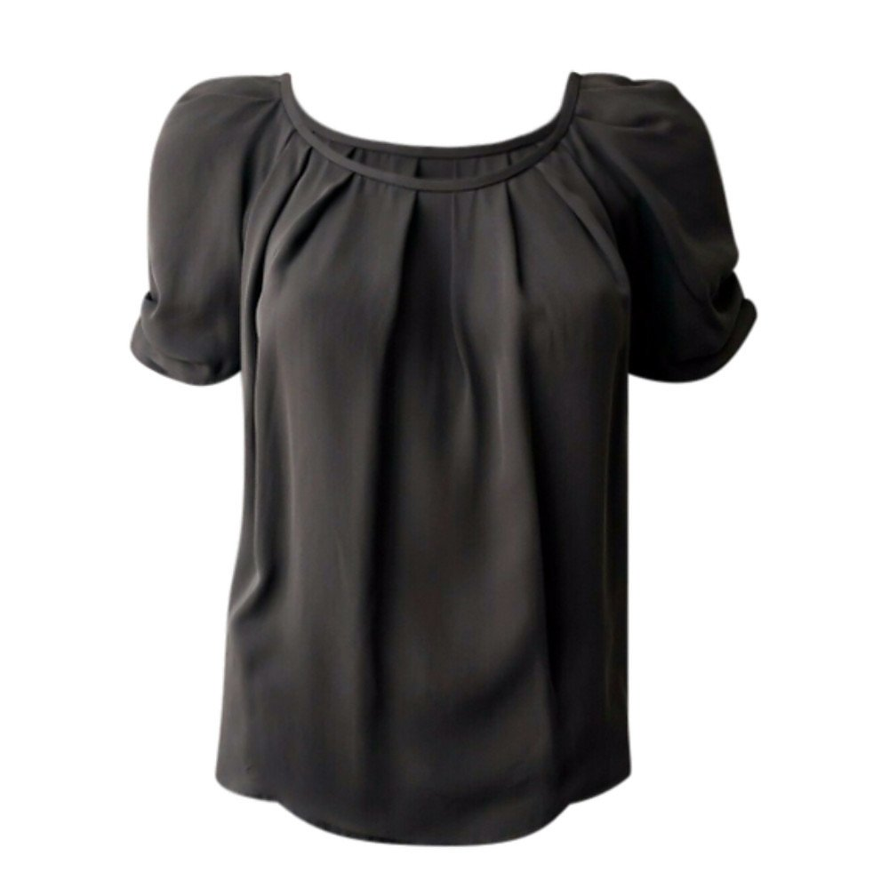 Boutique Bardot Ruched Top