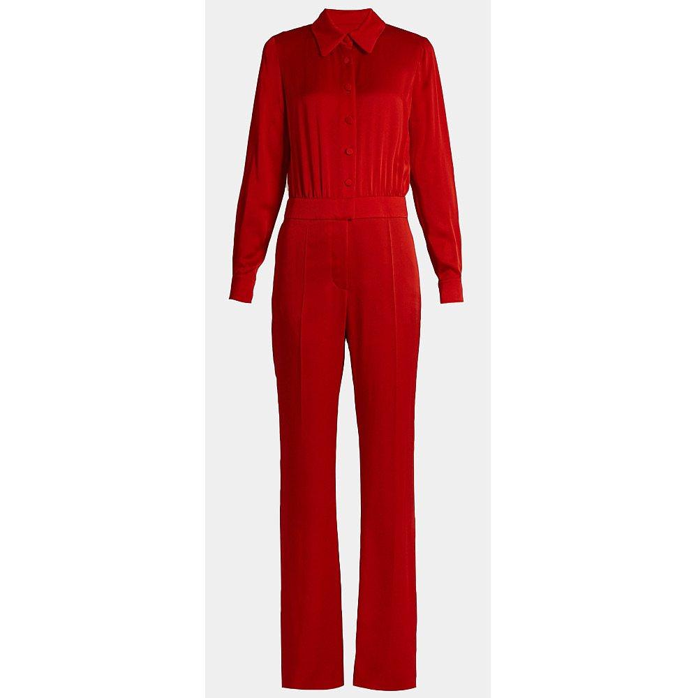 Sonia Rykiel Long-Sleeved Collared Jumpsuit