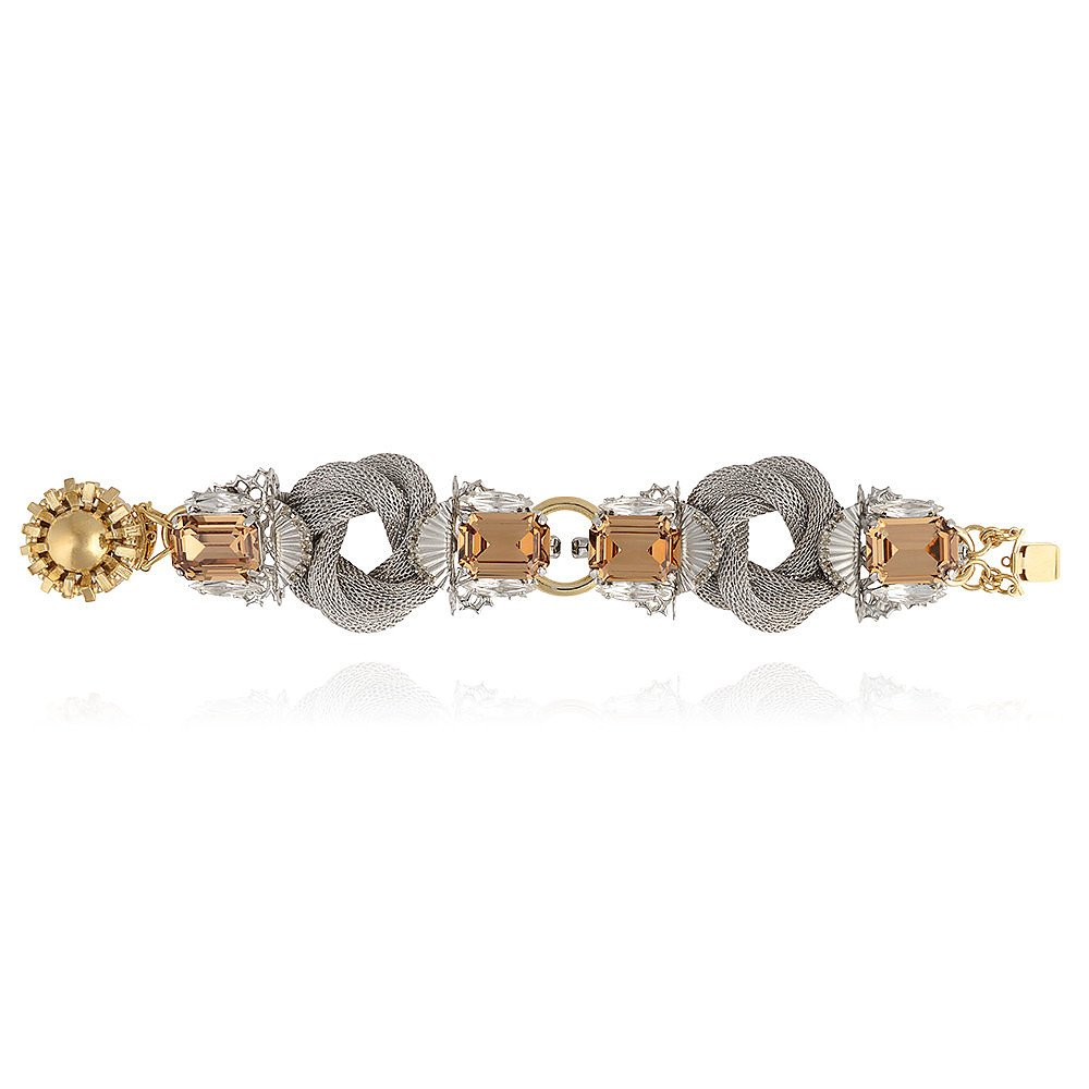 Anton Heunis Silver Knot Bracelet
