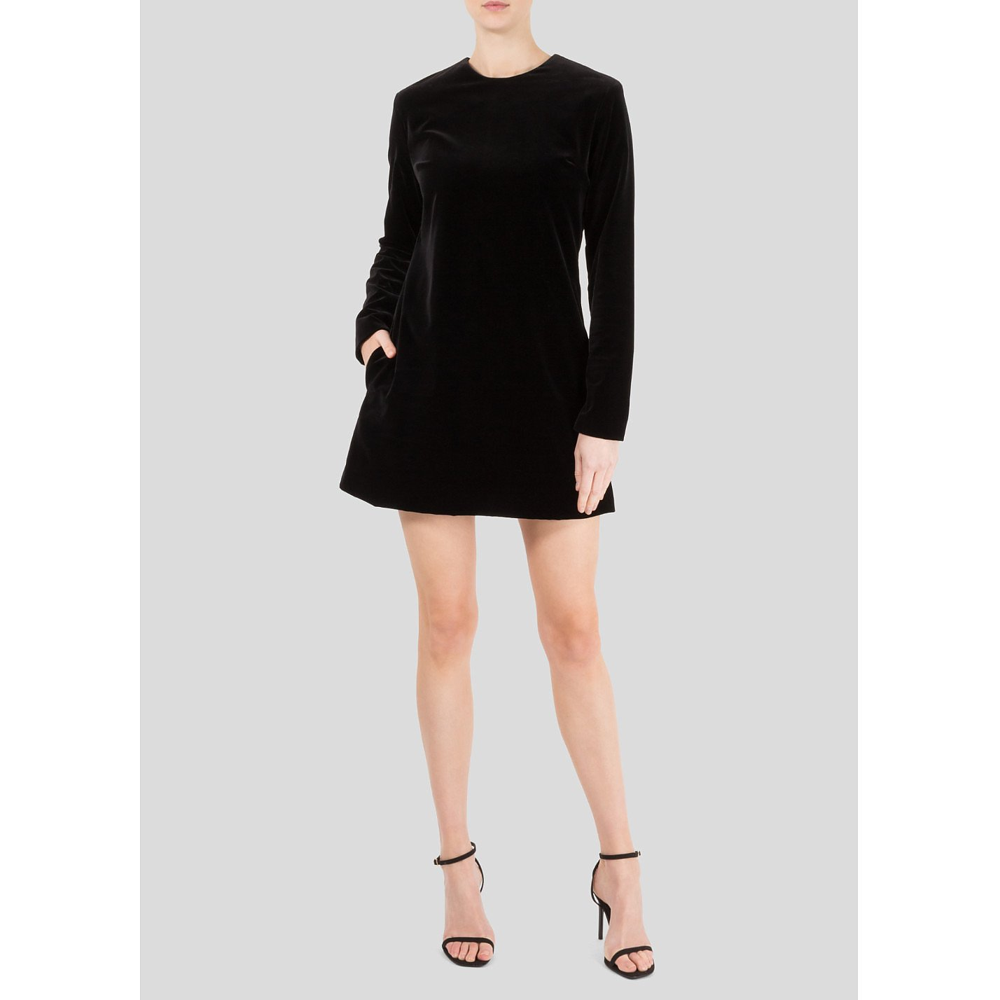 Racil Ara Velvet Mini Dress