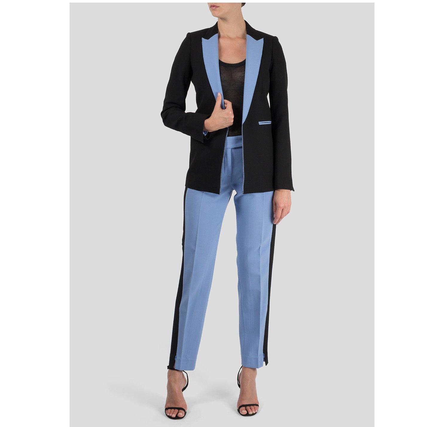 Amanda Wakeley Contrast Suit Trousers